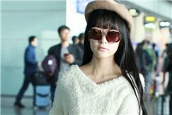 萝莉女星徐娇现身机场 清新淡雅软妹气质一览无余