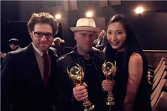中美国际电视节举行 王晶怡获年度最佳新晋女演员