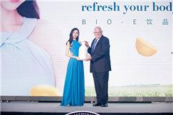 Angelababy担任Bio-E饮品形象大使,推崇健康与平衡之美