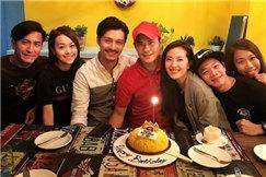 马国明携女友为郑嘉颖补庆生日 不见陈凯琳出镜