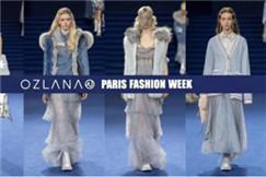 """OZLANA开启""""皮草派克""""巴黎时装周首秀,首创""""沉浸式""""大秀体验,现场星光熠熠,看点连连。"""