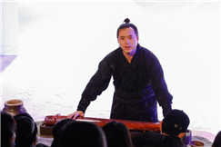 长风捭阖观沧海  又是一代豪杰时 ——青年演员金道鑫鑫的逐梦之旅